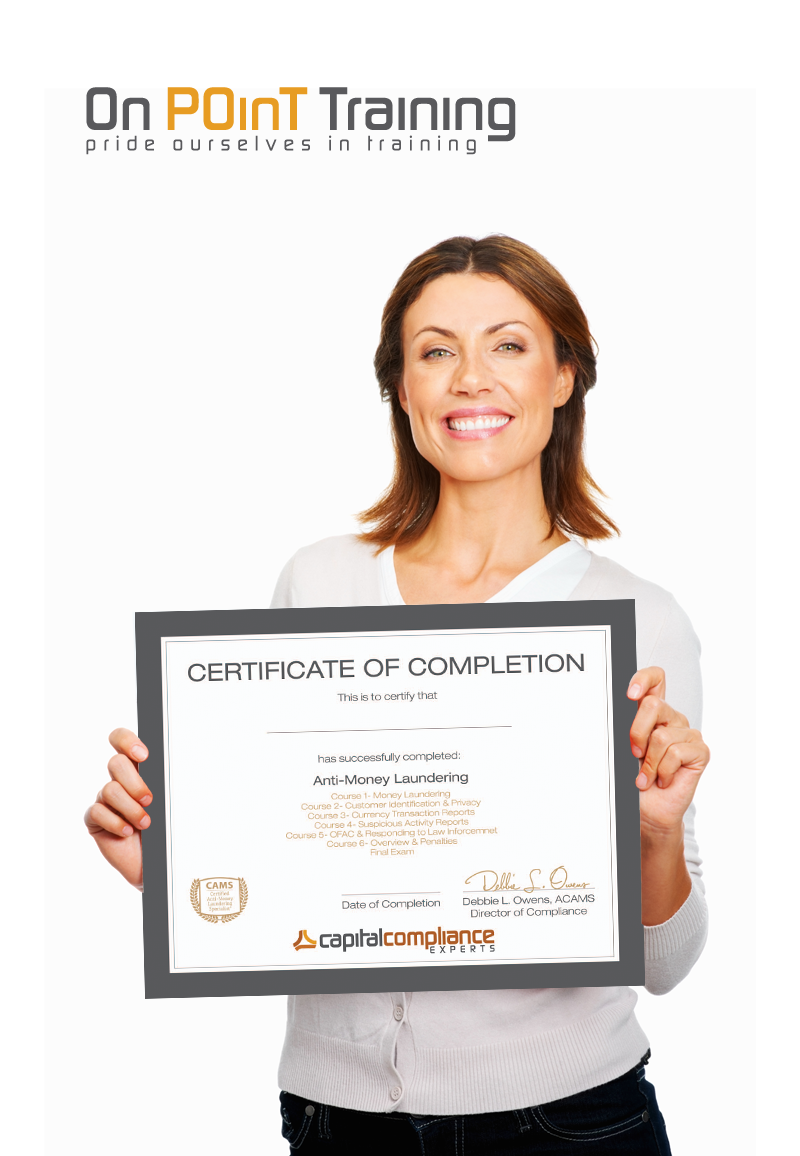 Compliance Training Certificate