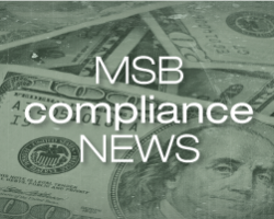 MSB Compliance News