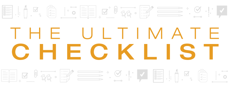 The Ultimate Regulatory Compliance Checklist