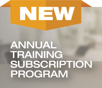 NEW: Annual Training Subscription Program
