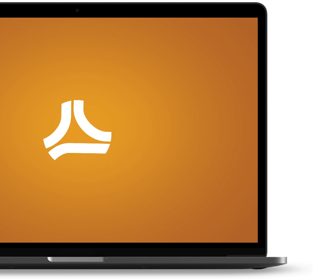 Laptop with Capital Compliance Experts portal logo