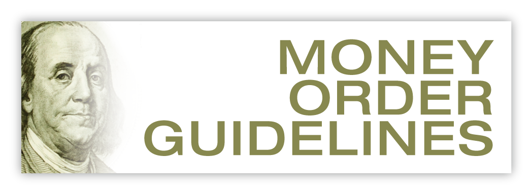 Compliance Guidelines for Money Orders